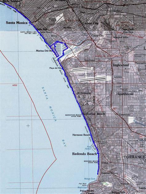 Description of a bike ride along LA's South Bay Bike Path ...