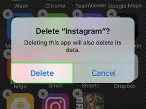 how to deactivate instagram on phone how to delete your instagram account on the iphone with