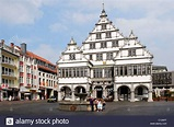 Town hall, Paderborn, North Rhine-Westphalia, Germany ...