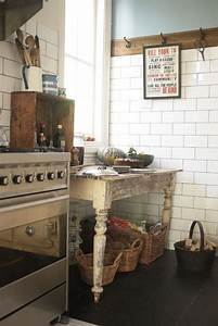 1552 best ideas for the house images on pinterest With best brand of paint for kitchen cabinets with vintage subway sign wall art