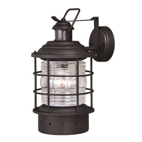 hyannis textured black outdoor wall light by vaxcel
