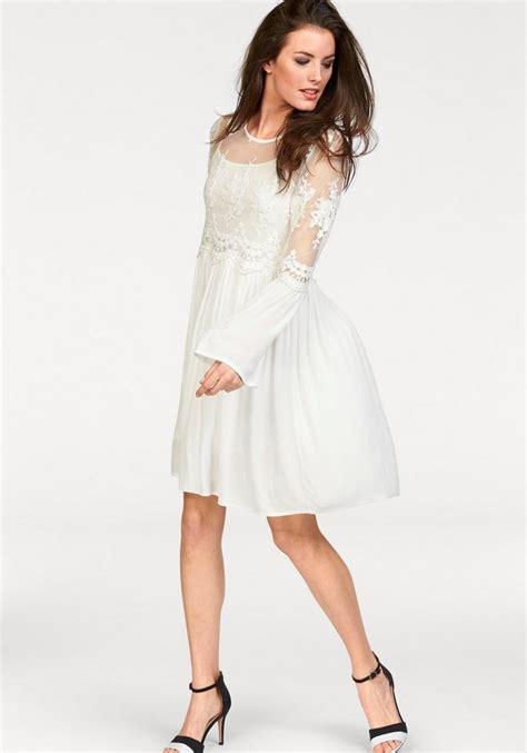 weißes kleid schwanger aniston spitzenkleid set 2 tlg im romantik look otto