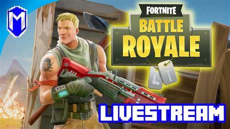 fortnite thumbnail fighting for our survival let s play fortnite battle royale livestream gameplay macghriogair