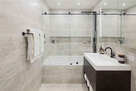 Modern Apartment Bathroom by Apartment Profile A Look At The Atlantic Apartments