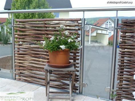 balkongeländer glas edelstahl balkongel 228 nder mit haselnussz 228 unen glas und edelstahl