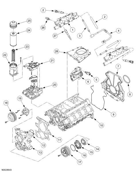 Ford 6 0l Engine Diagram by 2005 Ford F 250 An Engine Diagram Superduty Powerstroke