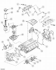 60 Powerstroke Oil Filter Housing Diagram