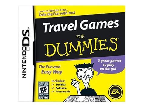 Travel Games For Dummies Nintendo Ds Game