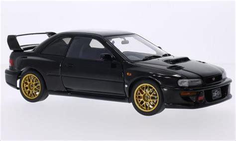 subaru autoart subaru impreza 22b black 1998 autoart diecast model car 1