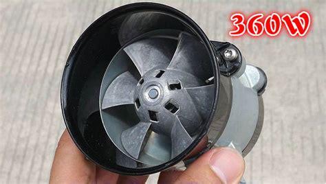 metal culvert fan rotor brushless dc motor high speed