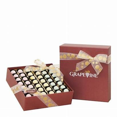 Chocolate Pastel Pleasure Pieces Gift Boxes Grapevine