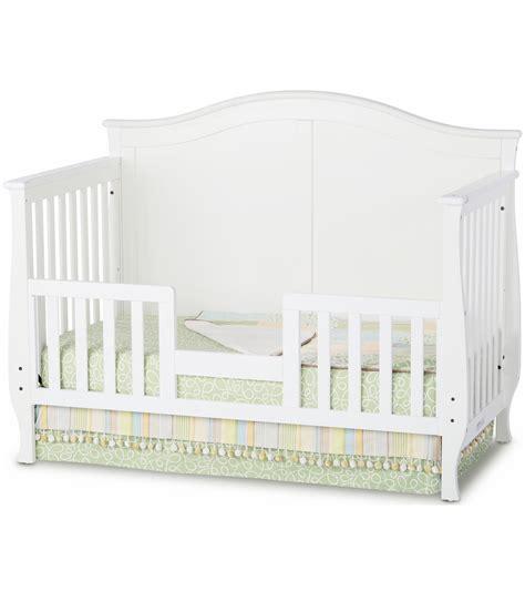child craft camden convertible crib in matte white