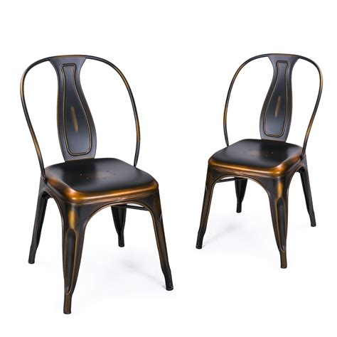 antique black dining chairs adeco metal stacking dining chairs vintage barstool black 4075