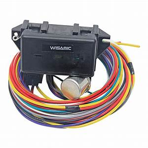 Wisamic 10 Circuit Basic Wiring Harness Fuse Box Street