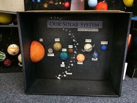 solar system project grade  solar system projects