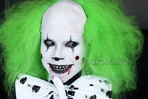 Sokolum: Evil Clown Halloween Tutorial