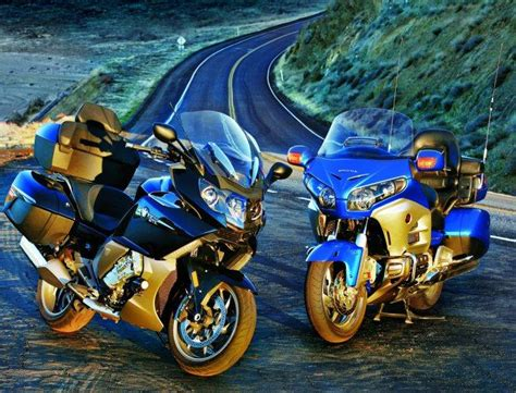 Honda Goldwing Backgrounds by Bmw K 1600 Gt Honda Goldwing Wallpapers Hd Desktop And