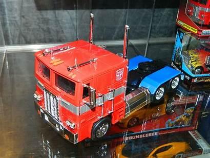 Optimus Prime G1 Jada Toys Transformers Scale