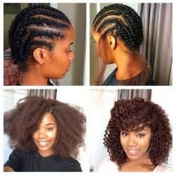 Crochet Braids Natural Hair Style
