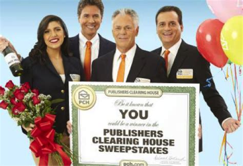 publishers clearing house winner today pch prize patrol and publishers clearing house winner