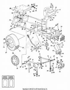 Mtd 14bj845h062  2002  Parts Diagram For Lift Assembly