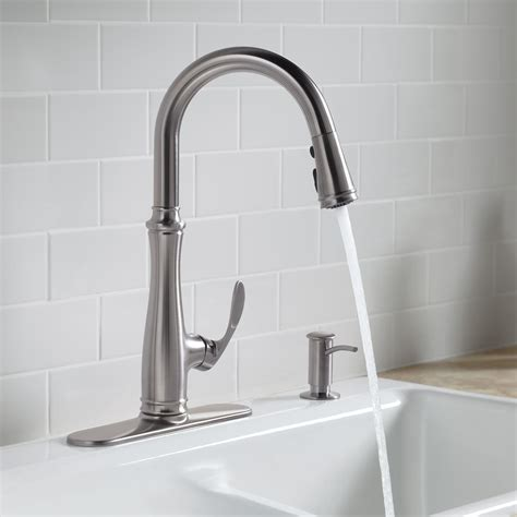 Kohler Bellera Faucet Rubbed Bronze by Kohler K 560 2bz Bellera Pull Kitchen Faucet