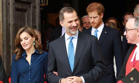 prince harry tours queen letizia  king felipe