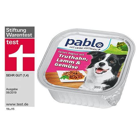 hunde nassfutter mittelpreisig  tested