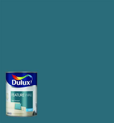 dulux feature wall paint teal tension co uk diy tools color teal