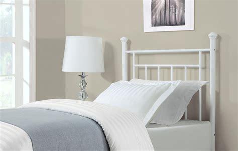 Dorel Living Twin Metal Headboard White Twin Bed Ebay