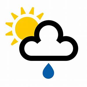 Cloud Weather Symbols - ClipArt Best