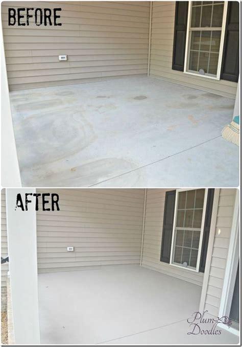 25 best ideas about painting concrete porch on