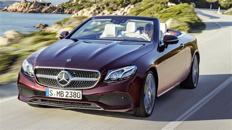 We analyze millions of used cars daily. Mercedes E-class Cabriolet (2017) review by CAR Magazine