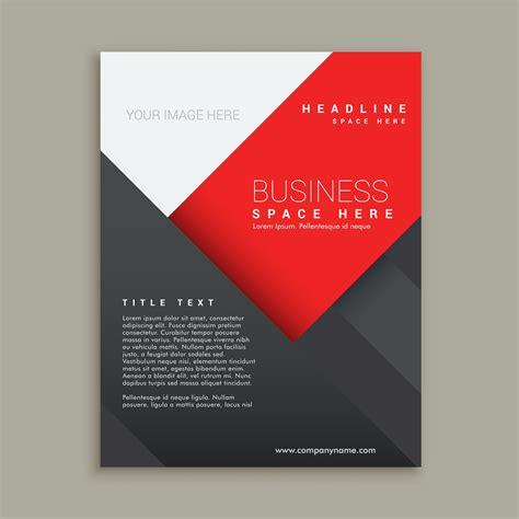 minimal business brochure template design