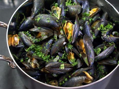 moules mariniere recette recette moules marinieres