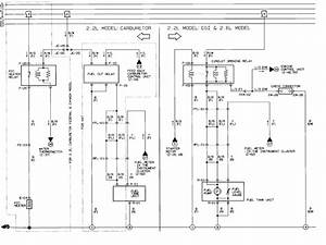 1988 Mazda B2600 Wiring Diagram