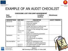 Excel Template Flow Interna Audit Module