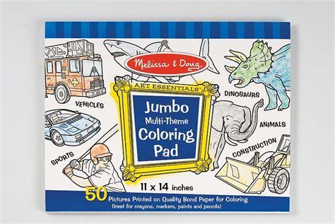 Melissa & Doug Jumbo Multi-theme Colouring Pad