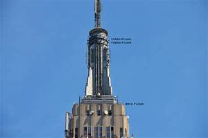 Inaccessible new york up to the 103rd floor of the empire for How many floors the empire state building have