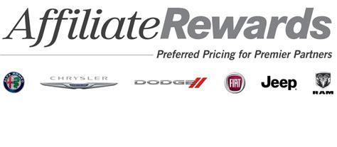 Chrysler Rewards by Dodge Vehicles