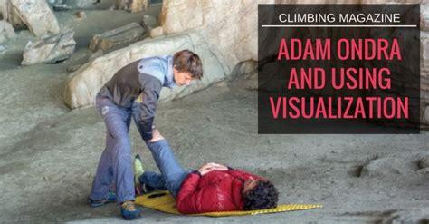 Climbing Magazine Adam Ondra Using Visualization