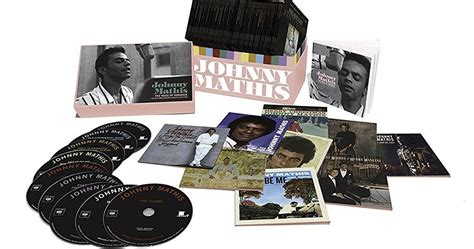 Johnny Mathis 68-disc Set 'the Voice Of