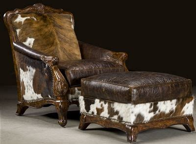 Cowhide Chair And Ottoman by Cowhide Chair Ottoman Decorating For The Home