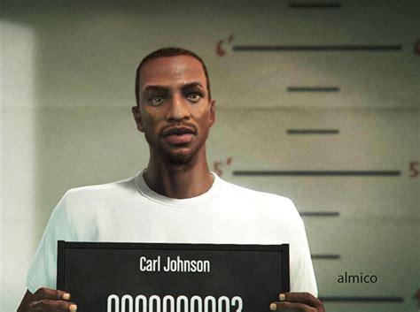Hd Carl Johnson For Gta V