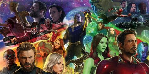 avengers infinity war every character we know about so
