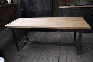 Table Chene Massif : table en chene massif design ~ Melissatoandfro.com Idées de Décoration