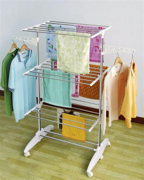 laundry drying rack 19 laundry room clothes hanger racks design ideas