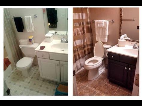 small bathroom renovation diy youtube