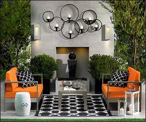 Wall art ideas design fascinating minimalist patio