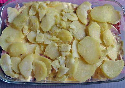 aufläufe mit kartoffeln auflauf mit kartoffeln spargel und schinken silviii